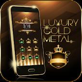Luxury Gold Metal Theme