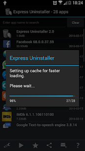 Express Uninstaller - screenshot