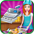 Supermarket Cash Register Girl APK for Bluestacks