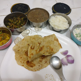 POWER PACKED LUNCH by Ved Thapar - Food & Drink Plated Food