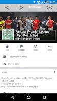 Screenshot of Fantasy Premier League EPL