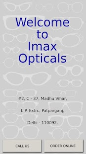 Imax Opticals Test App - screenshot