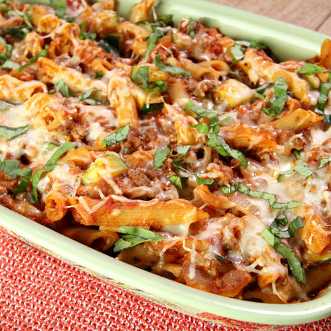Cheesy Beef and Pasta Casserole
