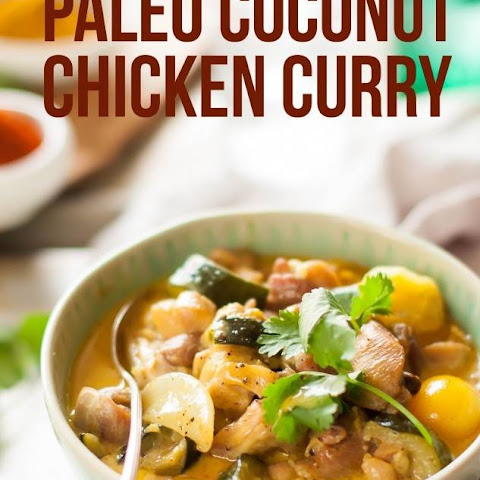 Paleo Coconut Chicken Curry