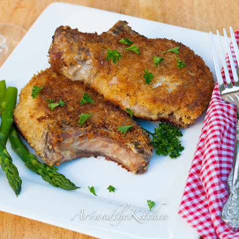 Panko Crusted Pork Chops