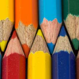 Colors! by Sadatul Islam - Artistic Objects Other Objects ( #colorpencil, #closeup, #macro )