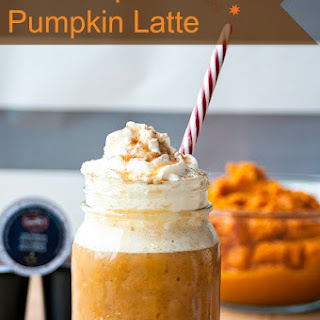 Iced Maple Pumpkin Spice Latte