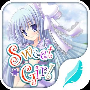 Sweet girl emoji keyboard