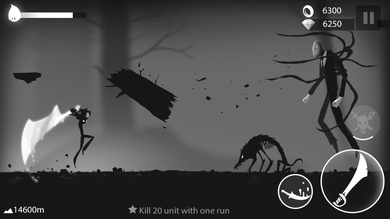 Stickman Run: Shadow Adventure Screenshot 0