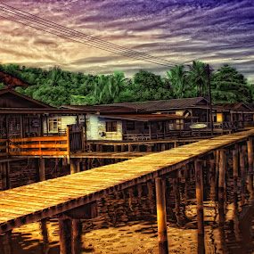 Water Village by Al Afyz - Landscapes Travel