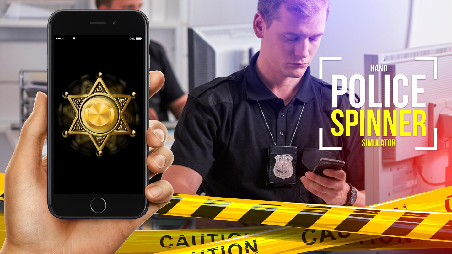 Polizei Handspinner Simulator android spiele download