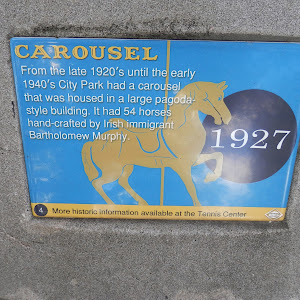 From the late 1920's until the early 1940's City Park had a carousel that was housed in a large pagoda-style building. It had 54 horses hand-crafted by Irish immigrant Bartholomew Murphy.