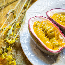 Passion Fruit by Antonio Winston - Food & Drink Fruits & Vegetables
