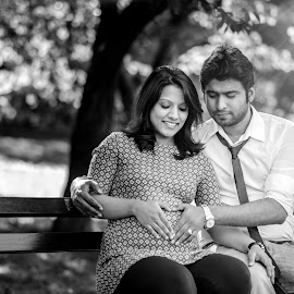 Parents-To-Be by Arnab Dutta - People Maternity ( mother, matternity, people, father )