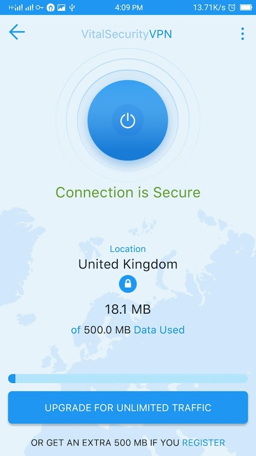FinjanMobile VitalSecurity VPN Screenshot 6