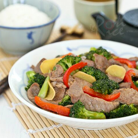 Quick Beef Stir-Fry With Bell Peppers Recipe — Dishmaps