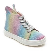 Minna Parikka Kids Mini Bunny Sneaks Rainbow HIGHTOP