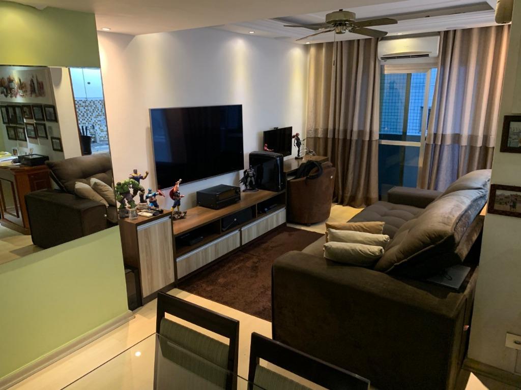Apartamento com 1 dormitório à venda, 62 m² por R$ 240.000,00 - Centro - São Vicente/SP