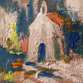 Contemplation by Vanja Škrobica - Painting All Painting