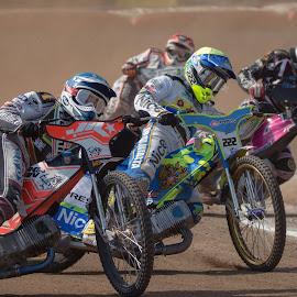 The great Pushing by Jiri Cetkovsky - Sports & Fitness Motorsports ( moto, speedway, pushing, liberec, duel, race )