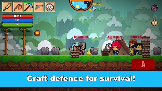 9 Pixel Survival Game 2 App screenshot