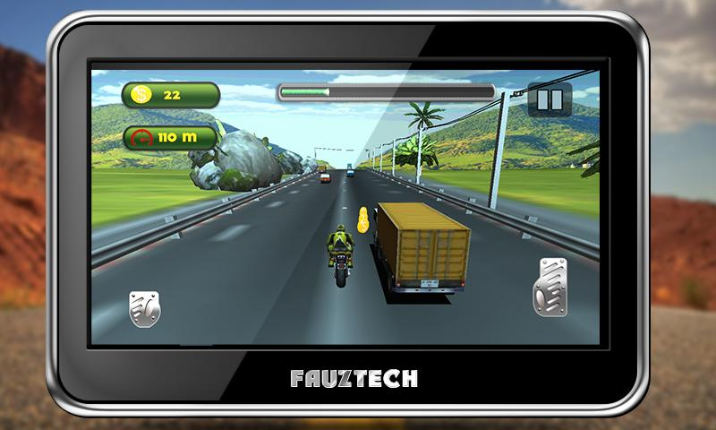 Highway Traffic Moto Racing Screenshot 4
