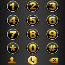 THEME DARK GOLD FOR EXDIALER