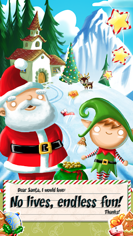android Xmas Swipe Screenshot 3