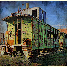 ----------The Old Caboose---------- by Neal Hatcher - Transportation Trains (  )