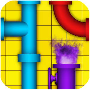 Pipe - logic puzzles Icon