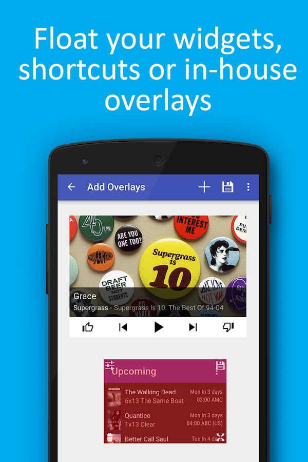 Overlays - Float Everywhere Screenshot 1