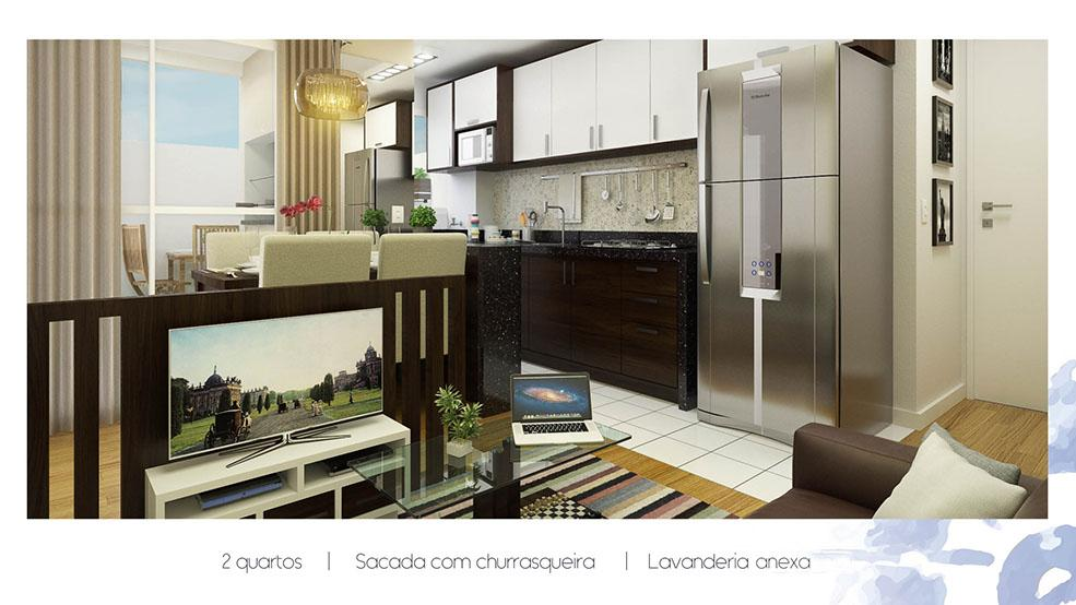 Apartamento residencial à venda, Rondinha, Campo Largo.