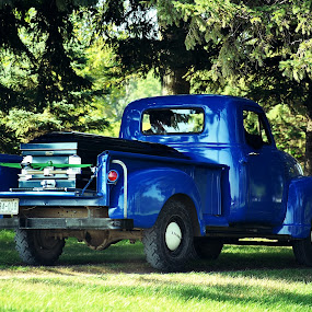 One final ride in Old Blue by Ken Orr - Transportation Automobiles (  )
