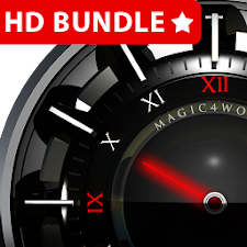 HD Analog Clock Bundle LWP 2