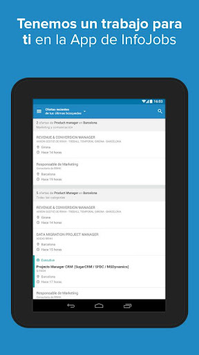 InfoJobs - Job Search screenshot 9