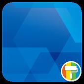 App Simple Blue ASUS ZenUI Theme APK for Windows Phone