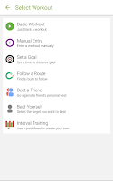 Screenshot of Endomondo - Running & Walking