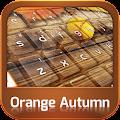 App Keyboard Orange Autumn apk for kindle fire