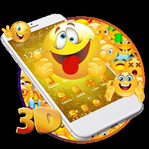 3D Emoji Theme For PC