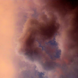 amazing dusks clouds / birth by Traceystar Meyer - Landscapes Cloud Formations