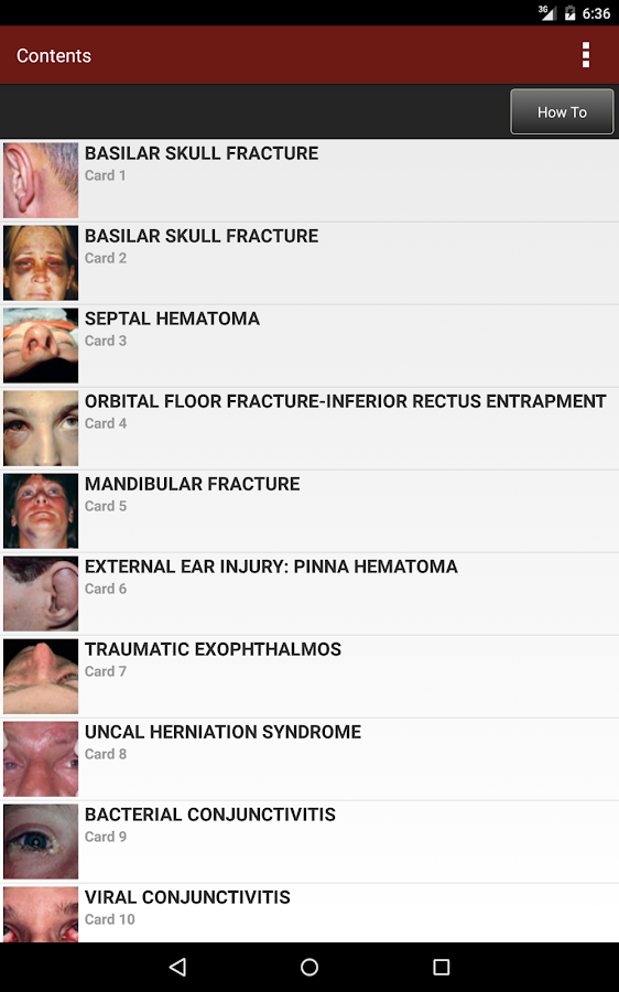 Emergency Medicine Flashcards Screenshot 17