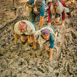 Everywhere mud  by Dragan Rakocevic - Sports & Fitness Other Sports