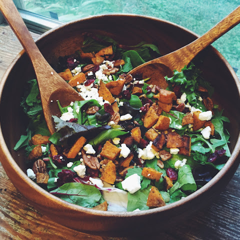 Sweet & Savory Fall Salad