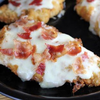 Best Breaded Chicken with Bacon