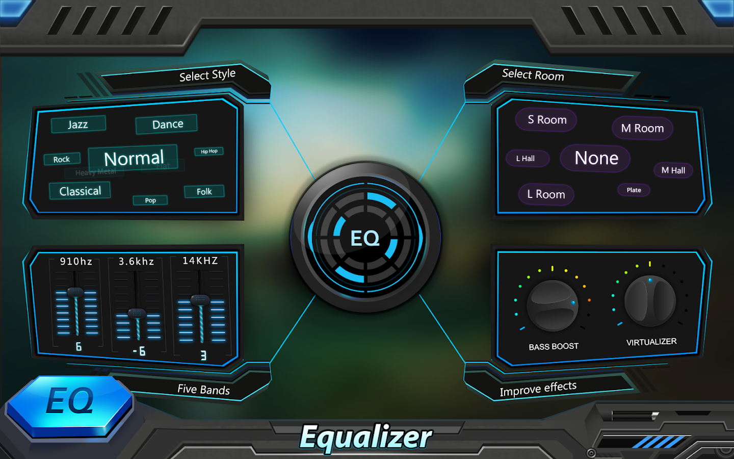 Equalizer & Bass Booster Pro Screenshot 6