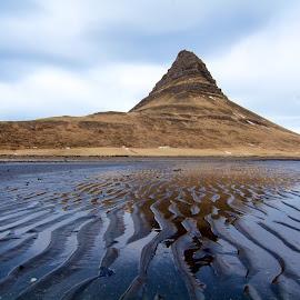 West of Imagination  by Ron Kreml - Landscapes Mountains & Hills ( tides, iceland, winter, tide, mountian, coastline )