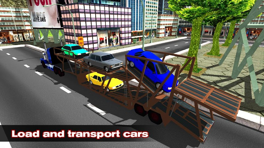 android Car Transporter Simulator 2016 Screenshot 0