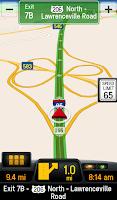 Screenshot of CoPilot Truck USA & CAN