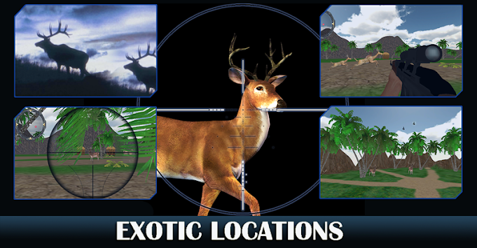 Deer Hunting- Animal Shooting 2017 apk screenshot