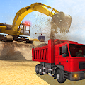 Heavy Excavator Dump Truck 3D APK for Bluestacks